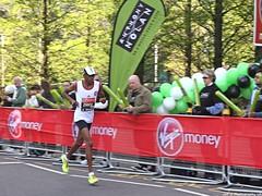 Abderrahim Zhiou of Tunisia, 2nd in IPC Race (Jeff G Photography - jeffgphoto@outlook.com) Tags: marathon running runners runner canarywharf londonmarathon abderrahimzhiou londonmarathon2014 ipcrace