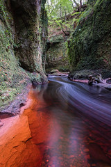 Wispy (Ian D) Tags: fujixt2 finnichglen devilspulpit scotland burn stirlingshire water fuji fujifilm carnockburn
