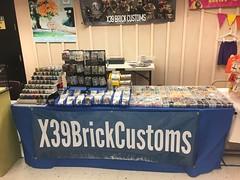 BrickCon 2016! (X39BrickCustoms .com) Tags: minifigs minifigures weapons guns armor printed custom table x39brickcustoms 2016 brickcon convention lego