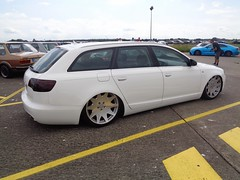 Audi A6 Avant (911gt2rs) Tags: treffen meeting show event tuning tief low stance airride c6 4f kombi sline weis white