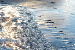Light reflections (evisdotter) Tags: lightreflections speglingar morning light beach strand sand water texture nature sooc windy
