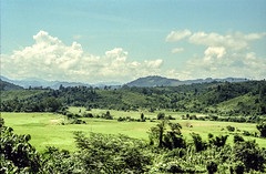 Laos : landscape, Nam Bak #3 (foto_morgana) Tags: analogphotography analogefotografie asia indochina landscape laos mountainous nambak nikoncoolscan outdoor panoramic photographieanalogue scenic travelexperience vuescan