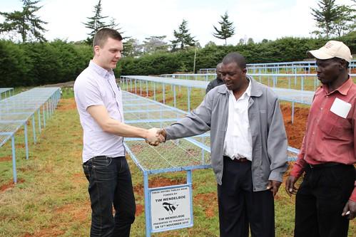 Tim and Patrick Ndirangu, vice chairman at Tekangu