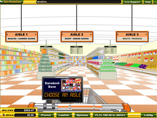 free Supermarket slot bonus game