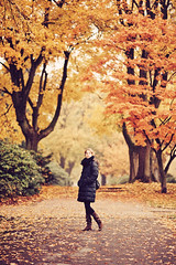 a walk (besimo) Tags: city autumn trees fall leaves poem f14 herbst walimex bielefeld rilke 85mm14 julitta d700 besimmazhiqi