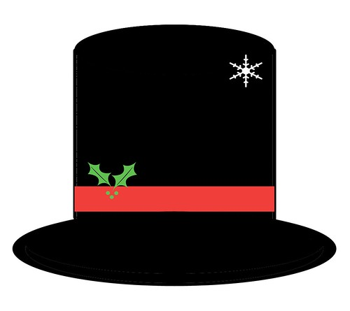 ... rendition of the hat that Frosty the Snowman wore when he came to life
