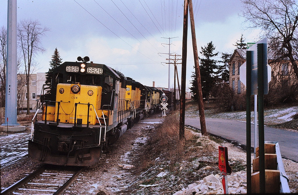 CNW at West Bend Wis 1989