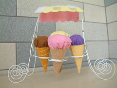 free felt pattern-felt icecream 09 (fairyfox) Tags: diy handmade howto playfood freepattern feltpattern freetutorial felticecream easysew sewpattern fairyfox