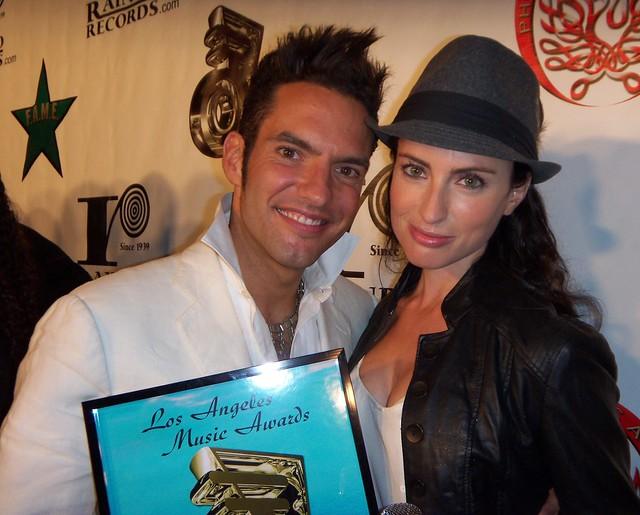 Gonzalo De la Torre, Samantha Gutstadt, LA Music Awards 2010