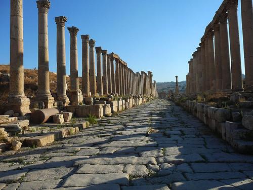 Gerasa – kde se proháněli římští vozatajové