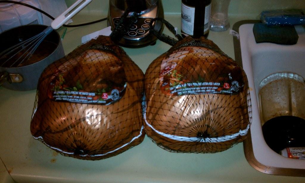 A tale of two turkeys