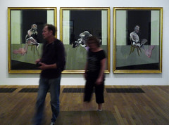 Francis Bacon, Triptych - August 1972 with Viewers