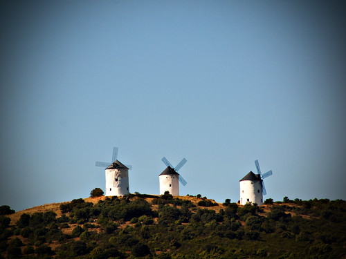 Windmills of Castilla-La Mancha