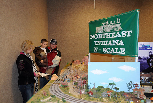 Railroadfan com • View topic - Northeast Indiana N Scale Layout