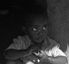 Ethiopian eyes. (Full body, restricted, see below) (vittorio vida) Tags: africa boy portrait bw smile face kids nude children eyes village child african dick bn hut innocenc