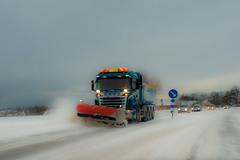 101202 day 7/365. Snow in Skåne (Peter Hillhagen) Tags: winter snow truck plogbil