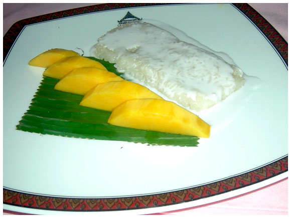Phuket - Coconut sticky rice and mango