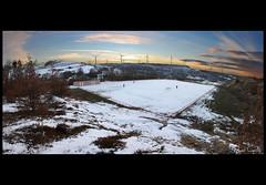 Olmpico de Montorio nevado (Krrillo) Tags: snow david canon nieve paisaje panoramica photomerge 1855 carrillo montorio 450d krrillo