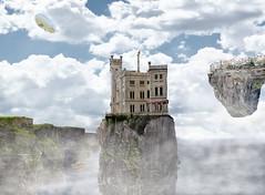 [フリー画像] グラフィックス, フォトアート, 宮殿・城, 201012081300