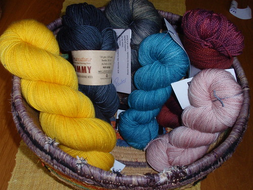 2011 sock yarns