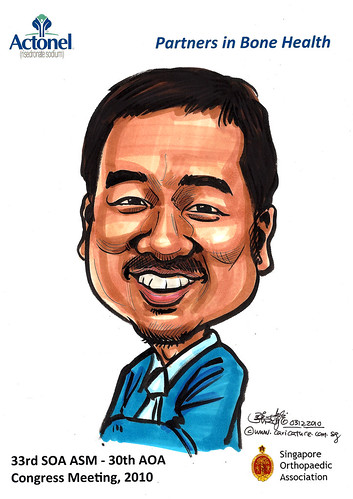Caricatures for Sanofi-Aventis - 8