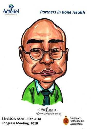 Caricatures for Sanofi-Aventis - 27