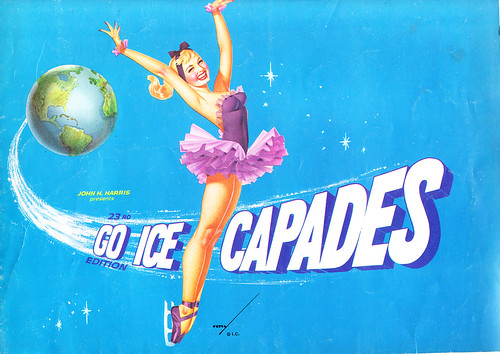 1962 Ice Capades Program