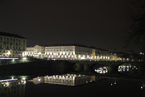 Reflected lights in Torino