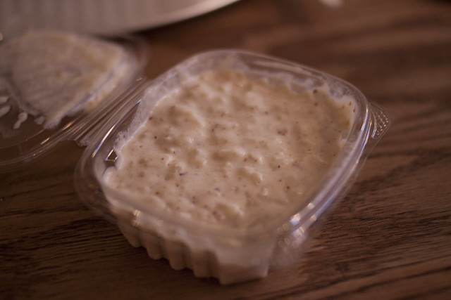Glaze Teriyaki rice pudding