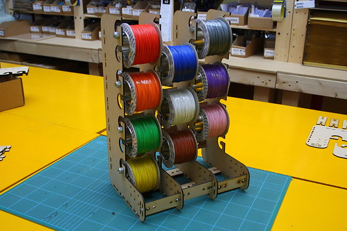 Wire Spool Holder (WIHO) - Three Wide