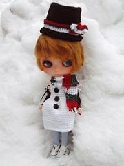 Sad little Snowman