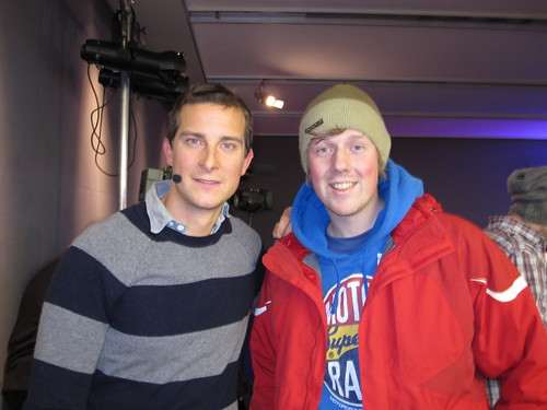 James & Bear Grylls