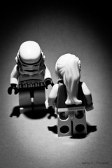 Nothing Else Matters (wnd.andreas) Tags: portrait blackandwhite bw white black art female toys star starwars lego stormtroopers m