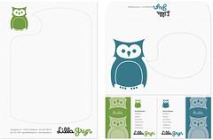 STATIONARY (astaform) Tags: fashion kids children logo design graphic retro clothes identity owl envelope brand businesscard branding stationary logotype letterhead ecologic