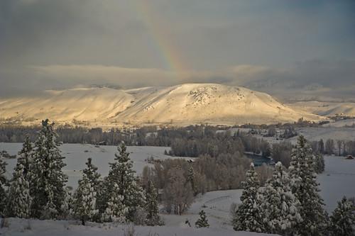 snowbow over Studhorse Mountain