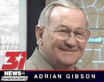 Adrian Gibson: WAAY-TV Meteorologist - (1997) (poundsdwayne47) Tags: al huntsville 1997 abc adrian gibson meteorologist waay