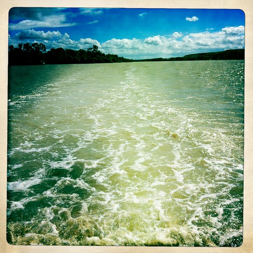 Cruisin' down the River Murray