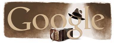 Google Carlos Gardel's Birthday