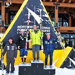 Sasha Zaitsoff (Red Mountain Racers) finishes 4th at Panorama Nor-Am Super Combined 2010