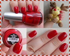 Ruby Deer da China Glaze (Bibi) Tags: christmas red natal toy rouge polish plush vermelho ruby pelcia vernis esmalte nel chinaglaze rubydeer