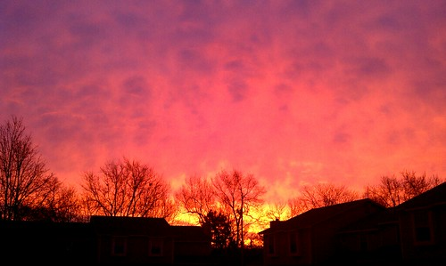 Sunrise in Lawrence - 12/13/2010