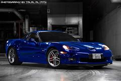 (Talal Al-Mtn) Tags: blue yellow photography kuwait corvette v8 vette  c6 q8 z06 zr1 kwt zo6 corvettec6 corvettezo6 automotivephotography lm10 inkuwait corvettec6zo6 talalalmtn   corvetteinkuwait photographybytalalalmtn corvette2009 bluezo6 cammedzo6