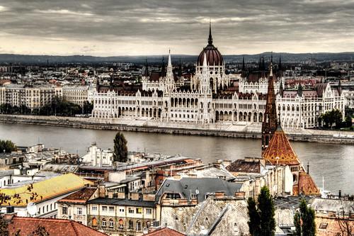 Hungarian parliament. Budapest. Parlamento húngaro