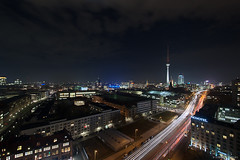 Night Over Berlin (Dietrich Bojko Photographie) Tags: city light berlin night germany deutschland lights evening abend cityscape nacht explore frontpage dietrichbojko dietrichbojkophotographie