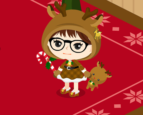 christmas quest prize - reindeer doll