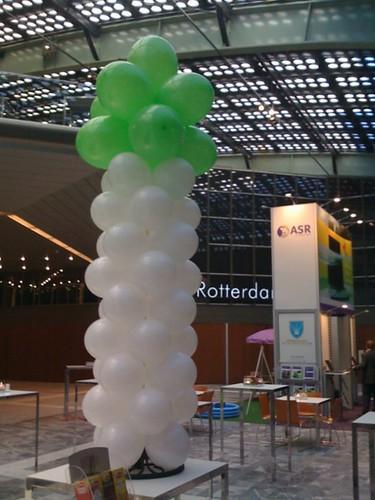 0082-ballonpilaar-breed-rond Bedrukt WTC Rotterdam