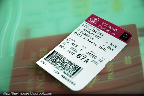 TG 0414 - Boarding Pass