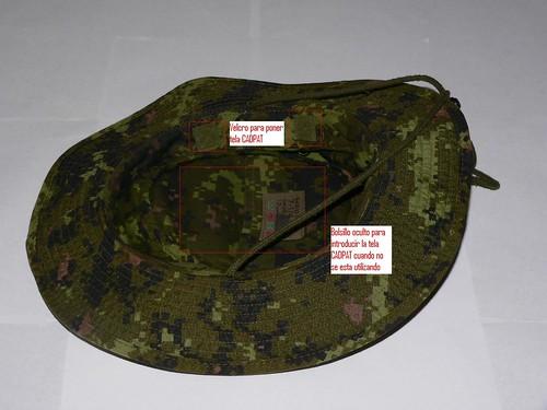 Bonnie Hat CADPAT TW Interior Mod.