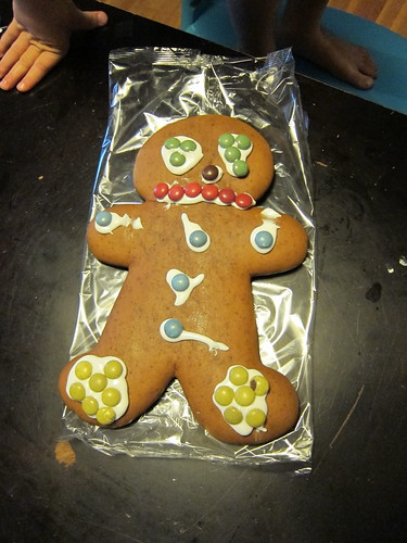 Ezra's Gingerbread Man