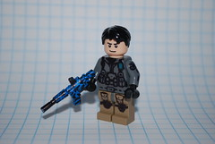 Siggy (The Sargeant of Randomness (no longer active)) Tags: blue 2 black modern call lego fig military tiger duty sig ops warfare brickarms